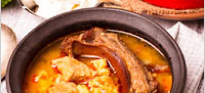 Рецепт самой вкусной шурпы из баранины