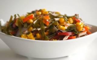 Салат с морской капустой витаминный