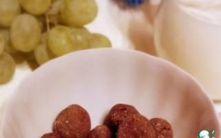 Как приготовить шоколадные шарики в домашних условиях