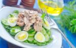 Вкусный салат из печени трески классический рецепт