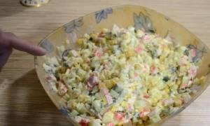 Из чего состоит крабовый салат